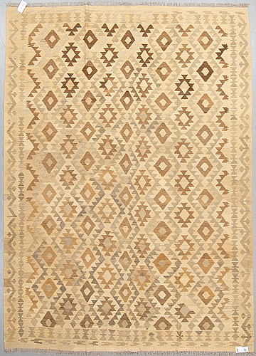 A carpet, kilim, 293 x 214 cm
