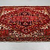 A carpet, old heriz ca 273 x 242 cm.