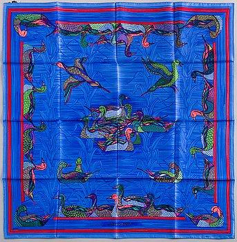 HERMÈS, HERMÈS, scarf, 'La Mare aux Canards'.
