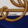 HermÈs, scarf, 'retour de pêche'