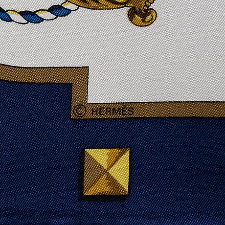 """HermÈs. scarf """"les clefs"""""""