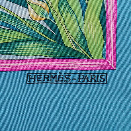 HermÈs, scarf, 'giverny'.