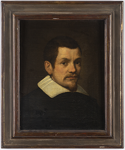 Leandro bassano, follower of. unsigned. relined canvas 50 x 38 cm.