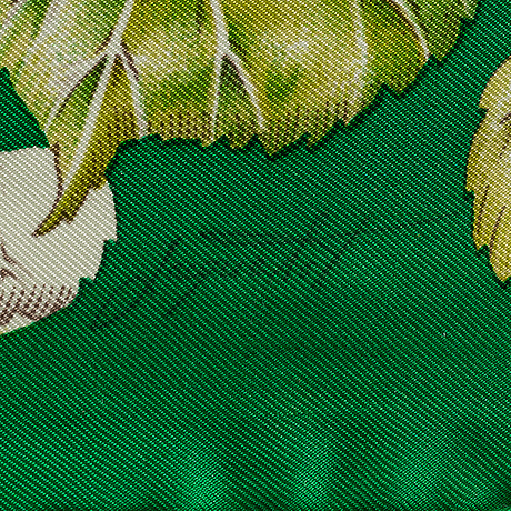 "HermÈs, scarf, ""la vie au grand air""."