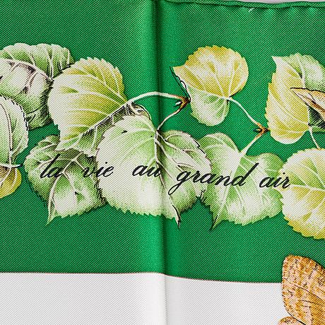 "HermÈs, scarf, ""la vie au grand air"""