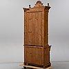 A walnut veneered cabinet, late 19th century