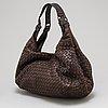 Bottega veneta, a brown leather bag