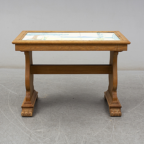 A mid 20th century coffee table