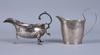 Kannor, 2 st, silver, bl a anders jonas björkman, stockholm, 1817 samt england.