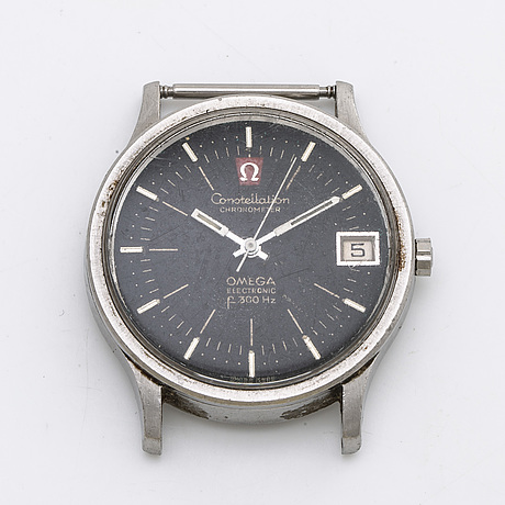 Omega, constellation chronometer electronic, rannekello, 36 mm.
