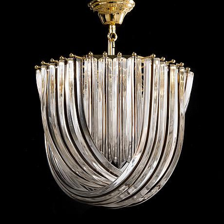 Carlo nason, a 1960's chandelier for murano.