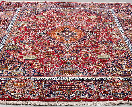 A carpet, kashmar, ca 396 x 300 cm