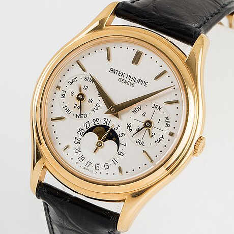 Patek philippe, grand complications, perpetual calendar.