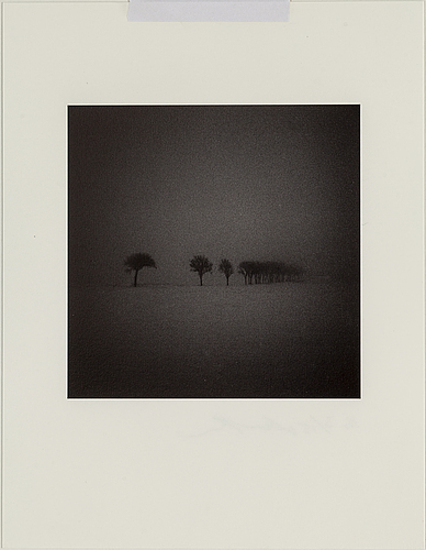 Martin bogren, photograph signed and numbered 3/15 on verso.