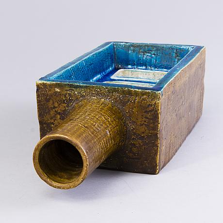 Aldo londi, flaska, keramik, bitossi, italien 1961