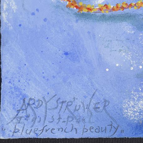 Ardy strÜwer, akvarell/gouache, signed, st paul.