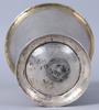 BÄgare, silver, petter olofsson Åkerblom, marstrand, 1764. 244 gram.