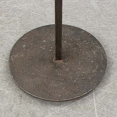 Golvkandelaber, smidesjärn, 1970-tal.