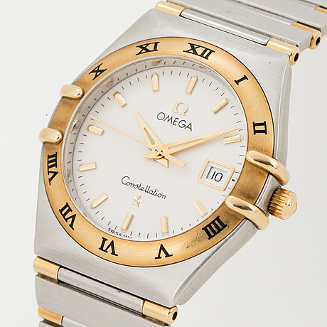 Omega, constellation, wristwatch, 27 mm