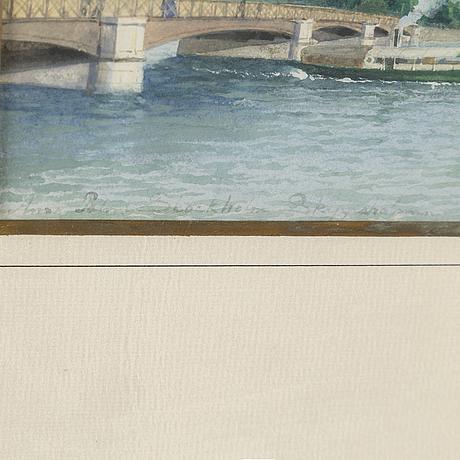 Anna palm de rosa, watercolour, signed anna palm.