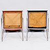 Two 1930/1940's 'tu-225' chairs for heteka finland.
