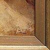 Arnaldo de lisio, a pair, oil on panel, signed