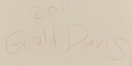 Gerald davis, akryl på duk, signerad samt daterad 2011 a tergo.