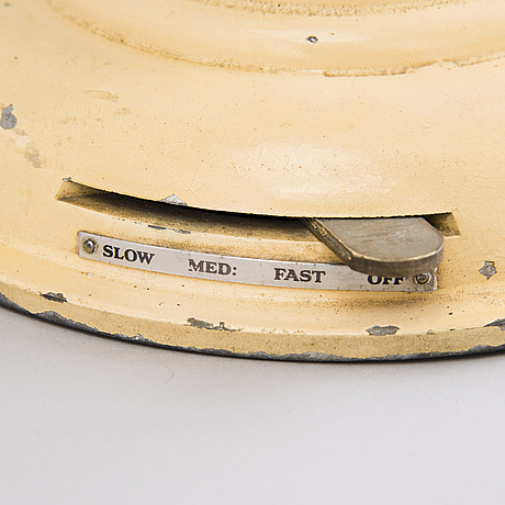 A 1930's fan by british rellim products, london england