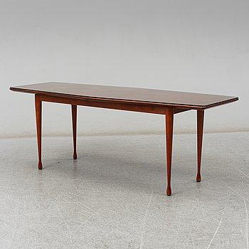 A teak veneered coffee table from SMI, 1950's.