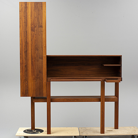 Abelardo gonzalez,  a cherry wood bar cabinet,  1997.
