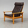 Fritz hansen, easy chair, denmark 1975.