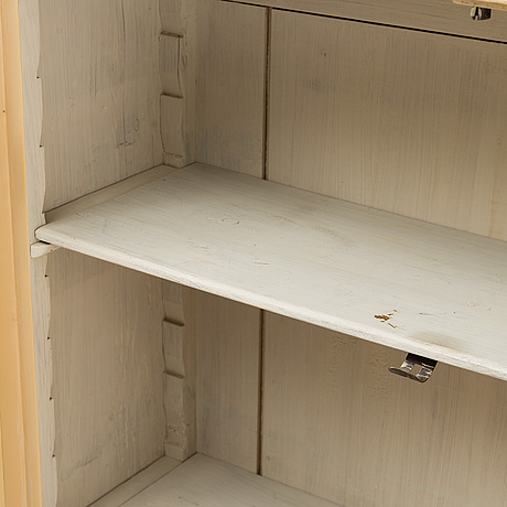 A swedish 19th century cupboard