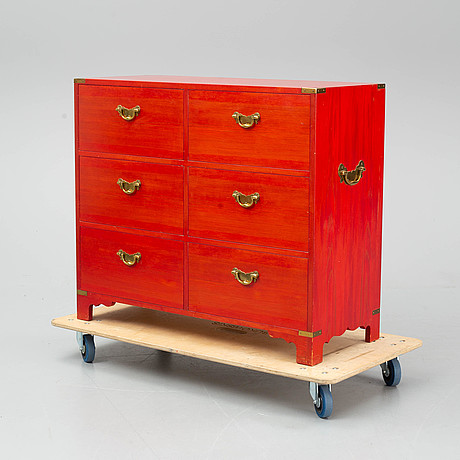 A chest of drawers by owe feuk, nordiska kompaniet.