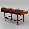 'flip-top' writing desk in teak by jens quistgaard, denmark, 1960s.