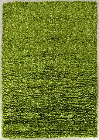 A swedish knotted pile rug svängsta mattväveri ca 300 x 200 cm.