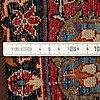 A rug, semi-antique esfahan, ca 210-207,5 x 143,5 cm.