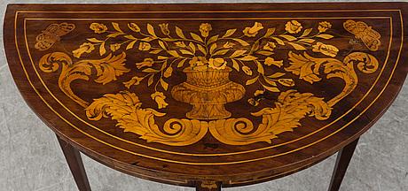 A dutch table, ca 1900