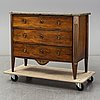 A late gustavian chest of drawers, late 18th century