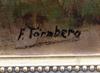 OkÄnd konstnÄr, olja på duk, bär sign f. törnberg. 1900-talets första hälft.