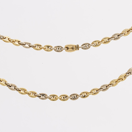 Gold necklace 18k, 44,1 g, marked cartier 750 943320