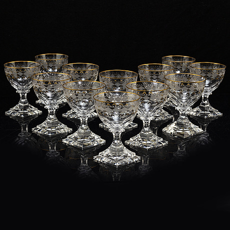 Champagneglasses by kosta
