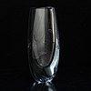 A glass vase by asta strömberg for strömbergshyttan