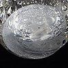 A glass vase, model 3234 by tapio wirkkala for iittala