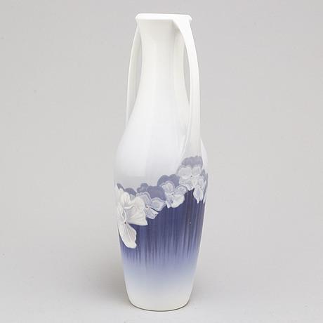 Royal copenhagen, a art noveau porcelain vase, early 20th century