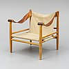 A late 20th cenutry easy chair.