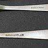"""Gab, bestickservis, 70 delar, silver.  """"rosenholm"""", stockholm, 1970-2010."""