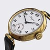 "Longines 18k gold, ""9 grand prix"", 35 mm, manual, year 1928"