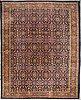 A carpet, semi antique mahal, 460 x 380 cm