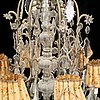 An early 20th century chandelier.
