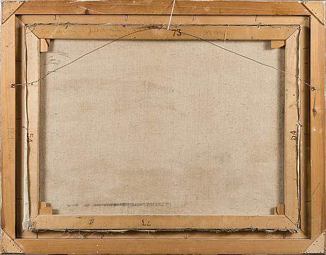 Eva cederstrÖm, olja på duk, signerad och daterad 1958.